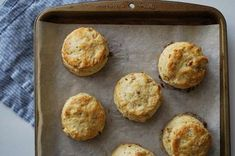Parmesan & Pine Nut Biscuits - easy to make a half recipe; goes great with sausage/potato/kale soup