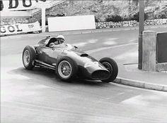 Graf Berghe von Trips, Ferrari Monaco 1957