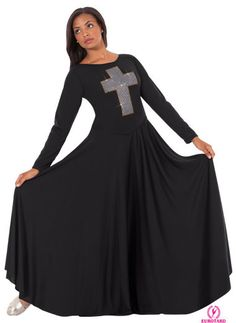 11027 Adult Jubilee Cross Dress | Colors: Black, Purple, Red, Royal, White | Also available in child sizes | by Eurotard Dancewear