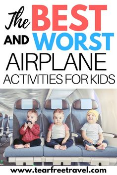 , This is how I kept my toddler entertained for an entire flight , Want to keep your kids busy on an airplane? Try some of these awesome airplane activities for kids! These are the best ideas for keeping a toddler ent. Traveling With Baby, Travel With Kids, Family Travel, Vacation Travel, Baby Travel, Travel Bed For Toddler, Travelling With Toddlers, Oahu Vacation, Travel Destinations