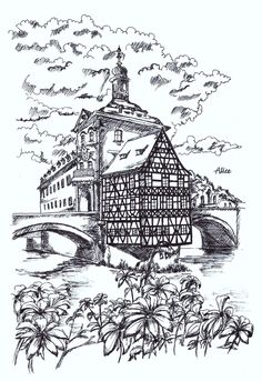 Bamberg #pendrawing