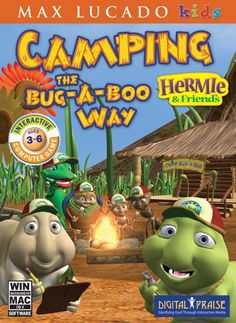 Hermie and Friends Camping the Bug-a-boo way PC Hermie and Friends Camping the Bug-a-boo way Personal Computer Camping Books, Camping Games, Camping Gear, Family Camping, Video Games List, Video Games For Kids, Campfire Stories, China Garden, Camp Rock