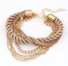 2015 NEW Fashion Design Girl Jewelry Handmade Crystal Rhinestone Bracelets Women Charm Bangle Wholesale Free Shipping BPY001(China (Mainland))