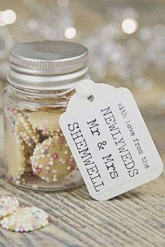 Old style sweet jars For more wedding ideas visit www.myiomwedding.im