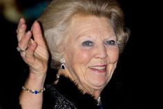 Beatrix bij jubileum Europese School. Foto ANP