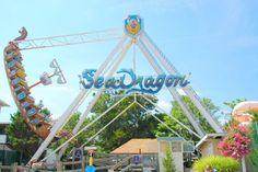 Sea Dragon at Funland.  #Attractions #Rides