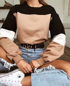 Street Style Summer Looks Summer outfits Teen Fashion, Winter Fashion, Fashion Outfits, Latest Fashion, Style Fashion, Fashion Trends, Fashion Women, Fashion Tips, Cheap Fashion