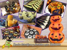 Recetas terroríficas y divertidas para Halloween Cake Pops, Bowser, Table Decorations, Queso, Pink, Halloween Cookies, Christmas Recipes, Glazed Carrots, Caramelized Onions