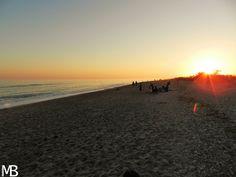 Spiaggia Maguelone al tramonto