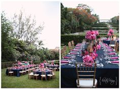 Reception Ideas. Navy and Pink Wedding. Paradise  Island, Bahamas_The One and Only_0078