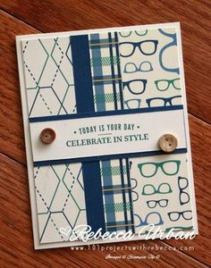 Stampin Up Truly Tailored. Stampin Up guy cards. Stampin Up fathers day. Father's day cards. Cards for guys. Stampin Up cards. Stampin Up True Gentlemen.
