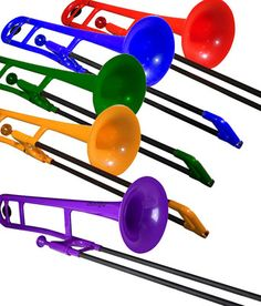Jiggs Pbone Plastic Trombone Red White Yellow Blue Green Purple Pbones | eBay