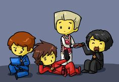 That moment when you find unbelievably adorable ninjago fan art and your heart makes a strange weeping sound