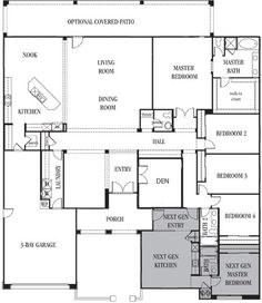 Floor Plans On Pinterest Floor Plans Home Plans And