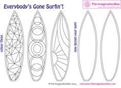 Ontwerp je eigen surfplank