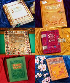 Disney Books from the opening scenes {reading}