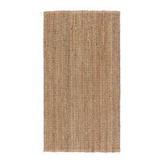 LOHALS Dywan tkany na płasko IKEA Juta jest trwałym i odnawialnym materiałem o naturalnych różnicach kolorystycznych.