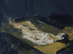 susanzweig | colin-vian:    Frank Auerbach, E.O.W. Nude Lying...