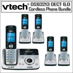 New-DS6321-3 3-Handset Expandable Cordless Phone with Cellular BLUETOOTH Connection - VTCDS6321-3 by VTech. $124.95. Make and receive landline and cellular callsConnect to BLUETOOTH«-enabled cellular phones to make andreceive cellular calls with the ease and comfort of a home phonesystem. Avoid the mad dash to catch your cellular call before itgoes to voicemail.Caller ID/Call Waiting*?stores 50 callsKnow who's calling with Caller ID/Call Waiting. Handset disp...