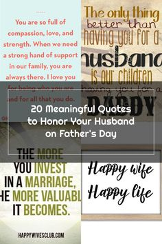 Father's Day Quotes From Wife I Love You For Being Who You Are Happy Wife Quotes, Fathers Day Quotes, Strong Hand, Compassion, Quote Of The Day, I Love You, Happy Father Day Quotes, Te Amo, Je T'aime