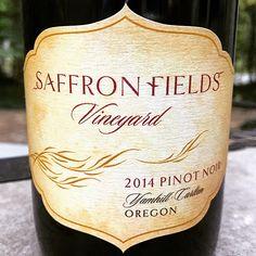 Nittany Epicurean: 2014 Saffron Fields Vineyard Yamhill-Carlton Pinot Noir