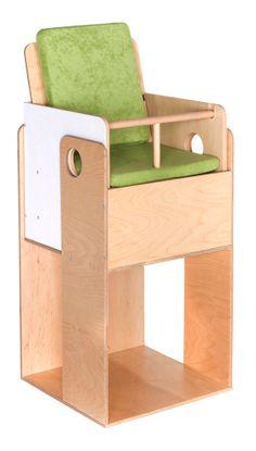 Birch High Chair OUEAT By Nuun Kids Design