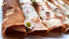 Szénhidrátcsökkentett palacsinta Dia Wellness -50 % lisztből Tacos, Wellness, Ethnic Recipes, Food, Meal, Essen, Hoods, Meals, Eten