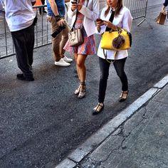 #Celine + #Fendi at Alice + Olivia #streetstyle #handbags #fashion #instadaily #instafashion #pursebop #purselover #purseboppicks