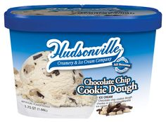 Chocoalte Chip Cookie Dough- Chocolate chip cookie dough chunks in our original flavored vanilla ice cream