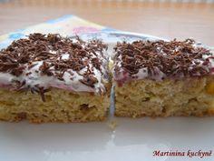 Martinina kuchyně: Cuketová buchta se zakysanou smetanou Krispie Treats, Rice Krispies, Zucchini, Sweet Tooth, Cooking, Desserts, Food, Recipes, Kitchen