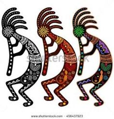 Image result for Clip Art Kokopelli