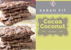 Cocoa Coconut Snack Bar Recipe