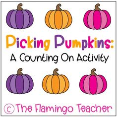 Little learners will have fun coloring and cutting out the pumpkins to subtract.