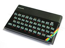 The 8 bit ZXSpectrum computer released in 1982. What a beauty!