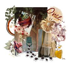 """Once..."" by plumsandhoneyvintage ❤ liked on Polyvore featuring art"