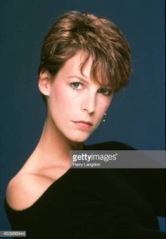Actress Jamie Lee Curtis poses for a portrait in 1985 in Los Angeles California