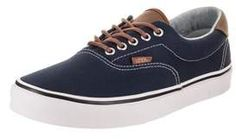 Era 59 Canvas Gum, Baskets Mixte Adulte, Rouge (Canvas Gum/Port Royale/Light Gum), 44 EUVans