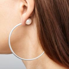 Dragon's Tail Earring | Ecrannium jewellery | Wolf & Badger