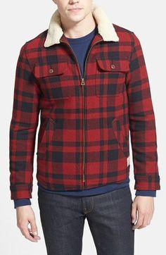 Scotch & Soda Wool Blend Lumberjack Jacket available at #Nordstrom