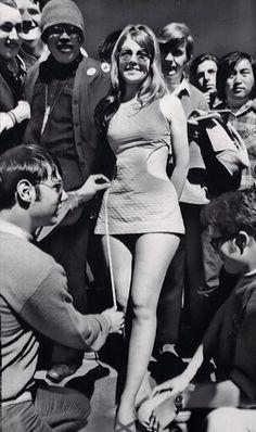 Mini-skirts in the 60s, Dazed Digital