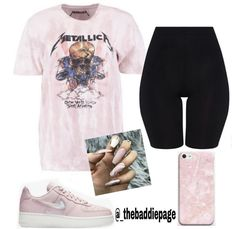 Bike 🚲 - Bike Aesthetic, Biker Shorts Outfit and Bike Art. Baddie Outfits Casual, Chill Outfits, Cute Swag Outfits, Cute Comfy Outfits, Grunge Outfits, Stylish Outfits, Teenage Outfits, Teen Fashion Outfits, Retro Outfits