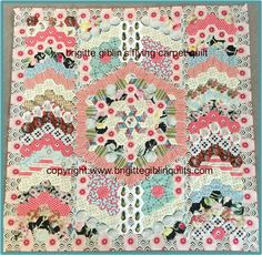 The Flying Carpet quilt pattern by Brigitte Giblin | Brigitte Giblin Quilts