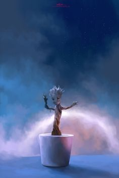 Groot by ChristinZakh (Guardians of the Galaxy)
