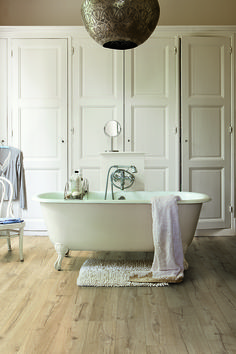 Best BATHROOM Flooring Inspiration Images On Pinterest - Types of bathroom flooring