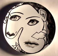 fornasetti plate # 164 tema e variazioni