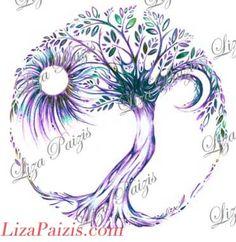 Trendy celtic tree of life artwork shops Ideas Olive Tree Tattoos, Willow Tree Tattoos, Tattoo Life, Tattoo Moon, Tree Tattoo Meaning, Tree Of Life Artwork, Natur Tattoos, Celtic Tree Of Life, Schulter Tattoo