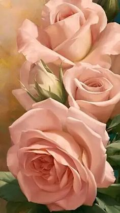 Beautiful Rose Flowers, Love Rose, My Flower, Vintage Flowers, Flower Art, Beautiful Flowers, Pink Roses, Pink Flowers, Rose Reference