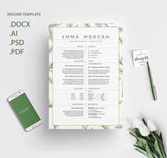 THIS IS A DIGITAL DOWNLOAD! You can print as many as you want! This listing is for digital files that I customize with your information for you and then you may print the files at home or send it to any printing services or photo lab. Each Resume Template is available for instant download and will include 1 .ZIP file containing the following:#clenResume #coverLetter #creativeCv #CurriculumVitae #cv #Template #ResumeTemplate #modernResume #MicrosoftWord #ApplePages Letterhead Design, Resume Design Template, Cv Template, Resume Templates, Letterhead Business, Stationery Design, Design Templates, Business Cards, Resume Tips