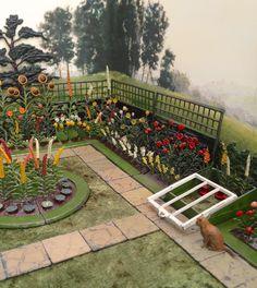 Britains miniature lead garden set 4 Britains Toys, Flora Garden, Mini Plants, Shed Homes, Miniature Gardens, Sylvanian Families, Little Flowers, Toy Soldiers, Old Pictures