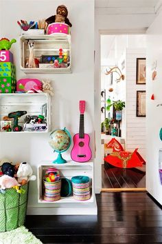 Casinha colorida: Home tour: boêmia escandinava
